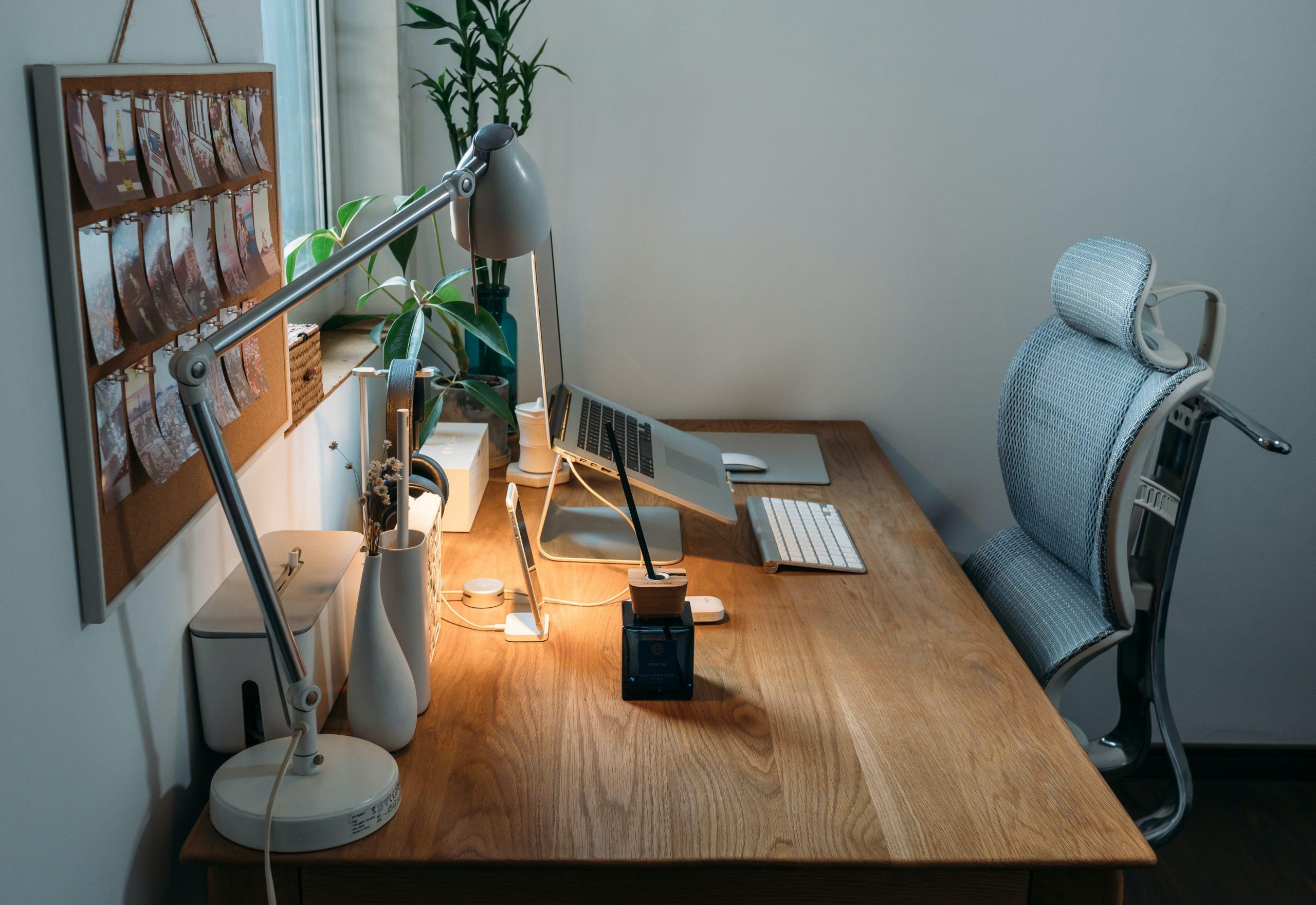 een echte ergonomische bureaustoel